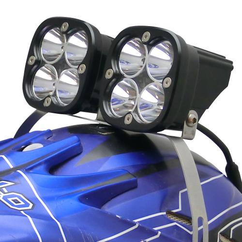 LED Hjälmlampa