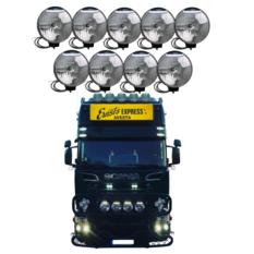 NBB 225 Xenon 60W 24V Inbyggd ballast 9-truck pack