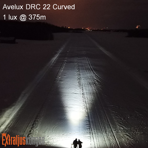 "Avelux DRC-22"" Curved LED-ljusramp Paket"
