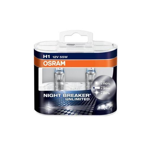 h7 osram night breaker unlimited extraljuskungen. Black Bedroom Furniture Sets. Home Design Ideas