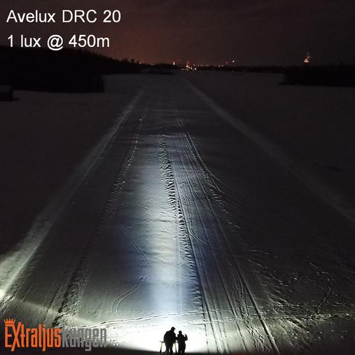 "Avelux DRC-20"" LED Extraljusramp"