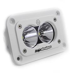 Baja Designs S2 Pro LED Light 21W, Infälld montering, Vit