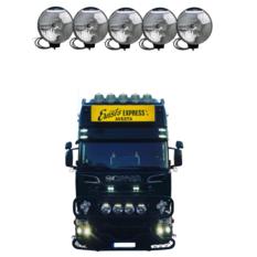 NBB 225 Xenon 60W 24V Inbyggd ballast 5-truck pack