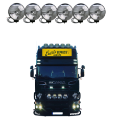 NBB 225 Xenon 60W 24V Inbyggd ballast 6-truck pack