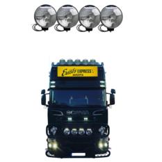 NBB 225 Xenon 60W 24V Inbyggd ballast 4-truck pack
