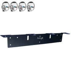 Extraljusfäste, fyra lampor (max 175mm)