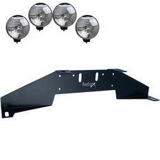 Rally 4, Extraljusfäste, fyra lampor (max 225mm)