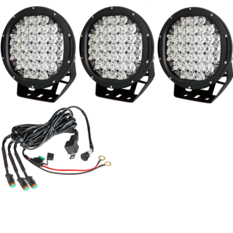 Avelux Summit 225 LED Extraljus 185W 3-pack