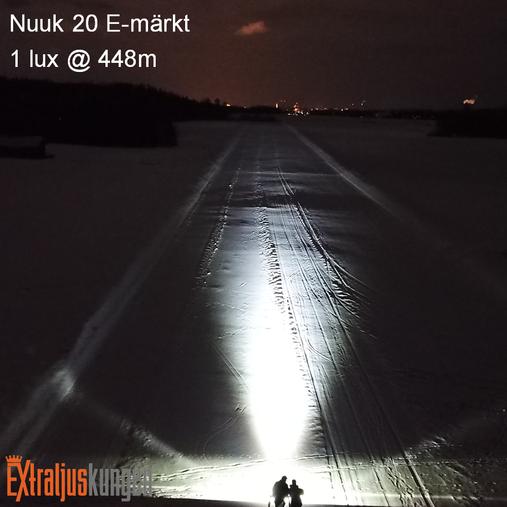"""Nuuk 20"""" E-märkt LED Extraljusramp"""
