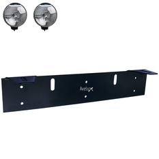 Extraljusfäste, två lampor ᵒ ᵒ (140-240mm)