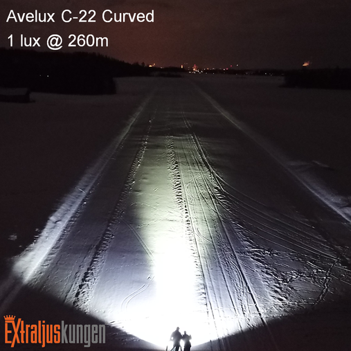"""Avelux C-22"""" Curved LED-ljusramp Paket"""