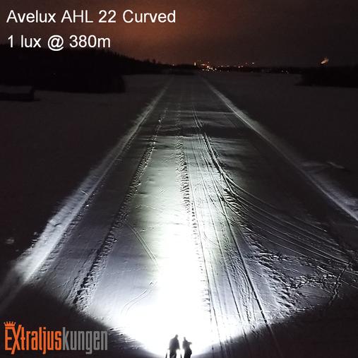 "Avelux AHL-22"" Curved LED-ljusramp Paket"