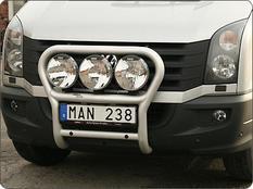 X-rack VW Crafter 12-16  För 2st lampor