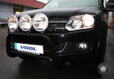 EU Frontbåge [Svart] - VW Amarok 11-16