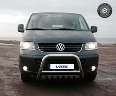 EU Frontbåge med hasplåt - VW T5 2003-2009