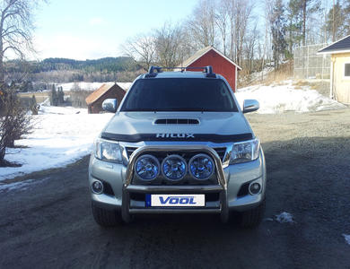 Frontbåge Stor Toyota Hilux 12-15