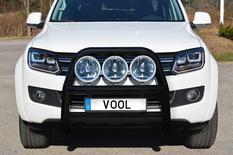 STOR 76MM frontbåge [Svart] - VW Amarok 2011-2016
