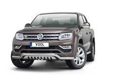 LOWBAR EU frontbåge med hasplåt - VW Amarok 2017-