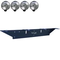Extraljusfäste, fyra lampor ᵒᵒᵒᵒ (max 225mm)