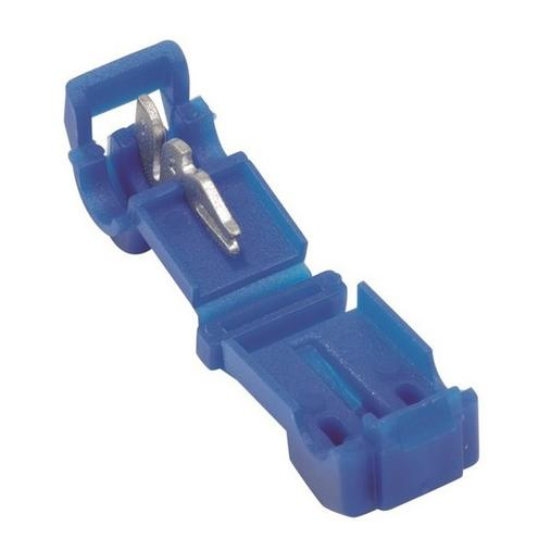 Strömtjuv Snabbkoppling Blå 1,0-2,5mm² 10-pack